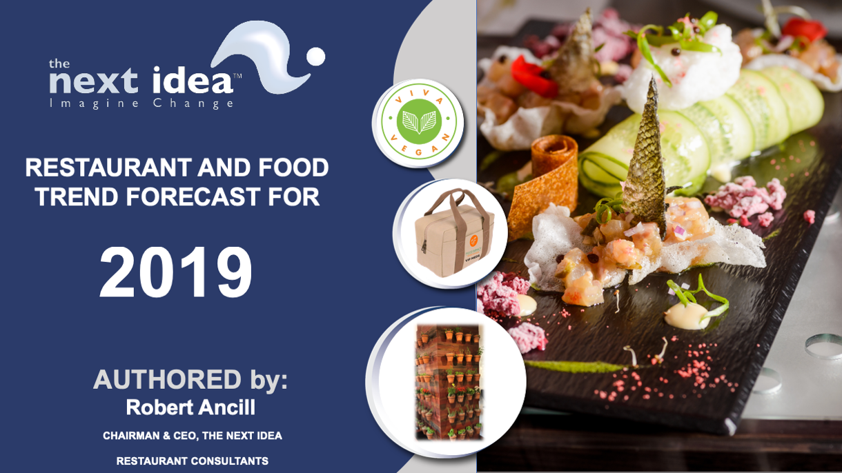 2020 Predicted Food Trends.The Next Idea Restaurant And Food Forecast For 2019 Robert